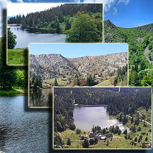 Фотографии  озера Труит у дю Форле (Эльзас, Франция)