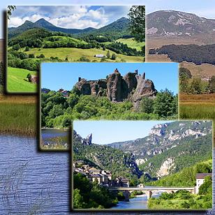 Фотографии гор Центрального массива (Франция)