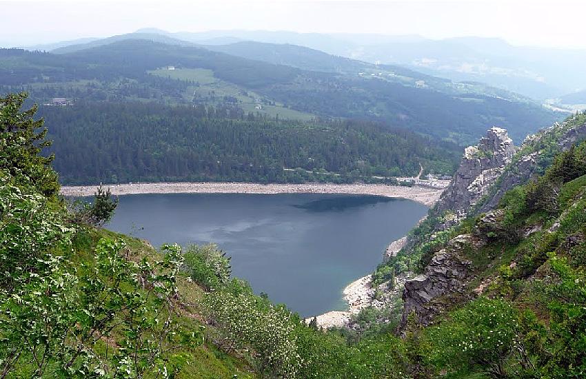 Горное озеро Блан (Lac Blanc)