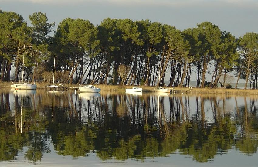 Озеро Лакано (Аквитания)