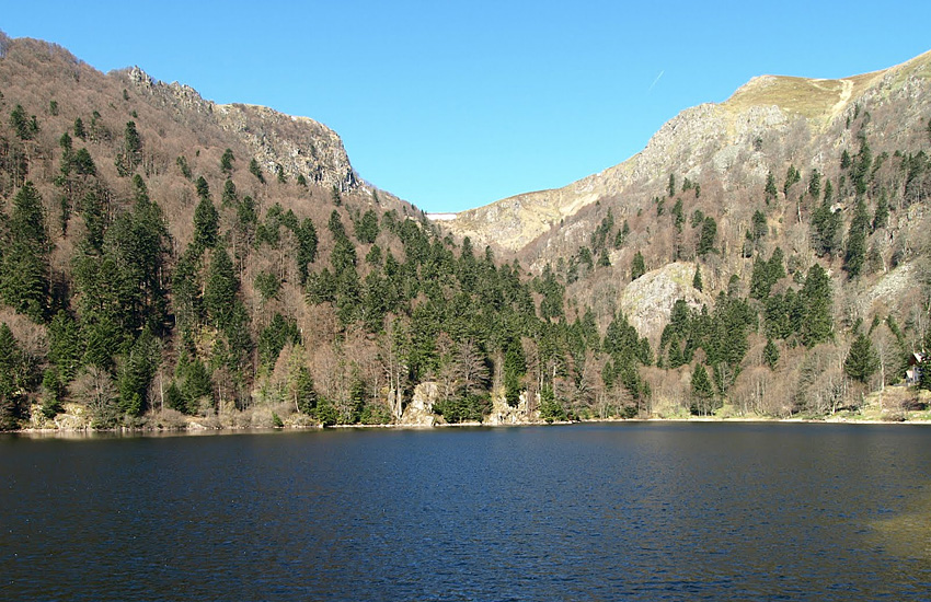 Озеро Шиссротрие  (Эльзас)