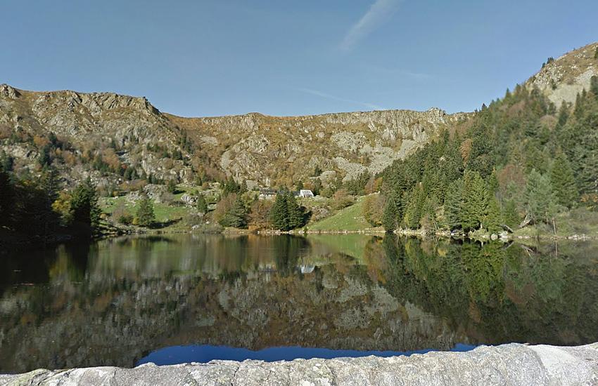 Озеро Труит у дю Форле  (Эльзас)
