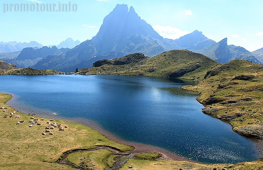 Центральные Пиренеи. Озеро Женто (lac Gentau)