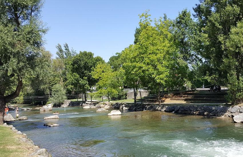 Река Адур (Adour)