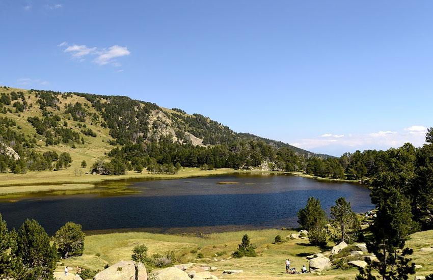 �сток Ода - озеро Од (Восточные Пиренеи)