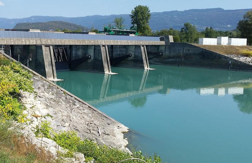 Гидрологическая характеристика Роны: электростанция Petite Centrale Hydroélectrique