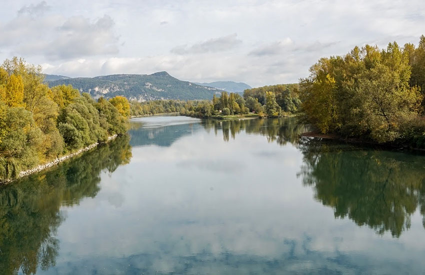 Река Рона (Rhone)