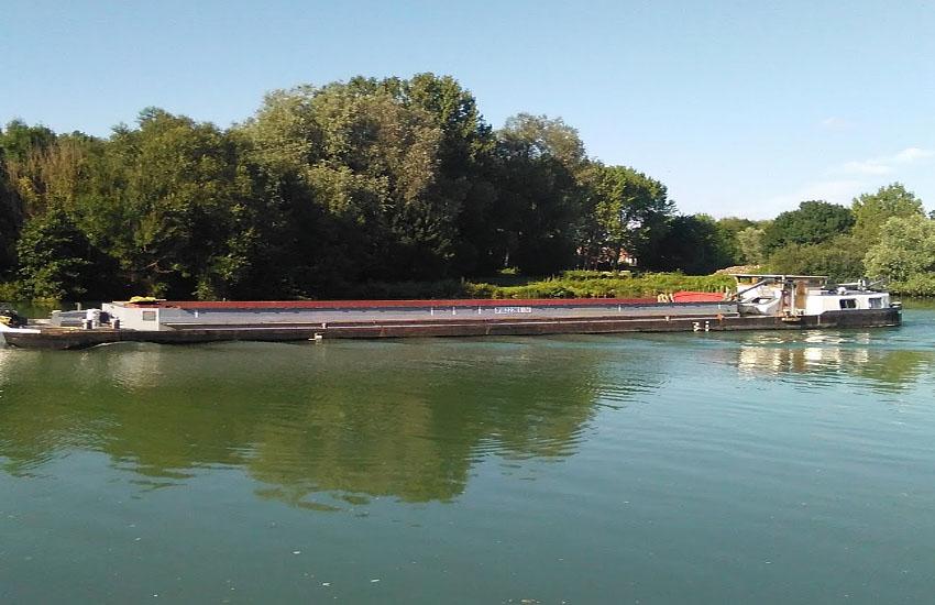 Судоходство на реке Сена (участок средней Сены)