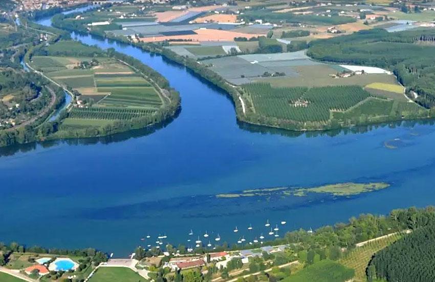 Слияние рек Тарн и Гаронна