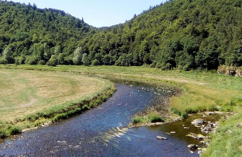 Река Трюйер (Truyère)