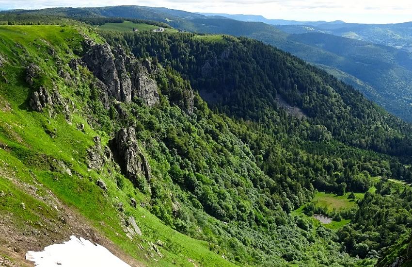 Южные Вогезы. Гора О де Фалимон (1 306 м)