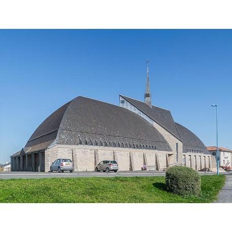 Церковь Святого �осифа Артисанского (Église Saint-Joseph-l'Artisan): Оне-ле-Шато, Авейрон