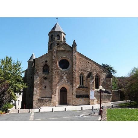 Церковь Святого Блеза в Обене (Église Saint-Blaise d'Aubin)