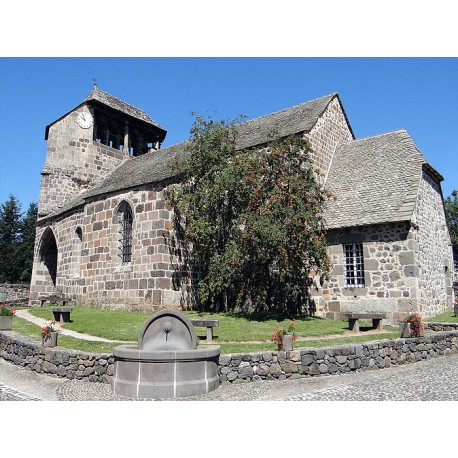 Церковь Святого Антима и Святого Сатурнина в Бромма  (Église Saint-Anthime-et-Saint-Saturnin de Brommat)