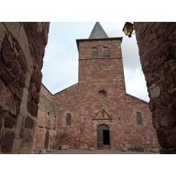 Церковь Сен-Блез в Клерво-д'Авейрон  (Église Saint-Blaise de Clairvaux-d'Aveyron)