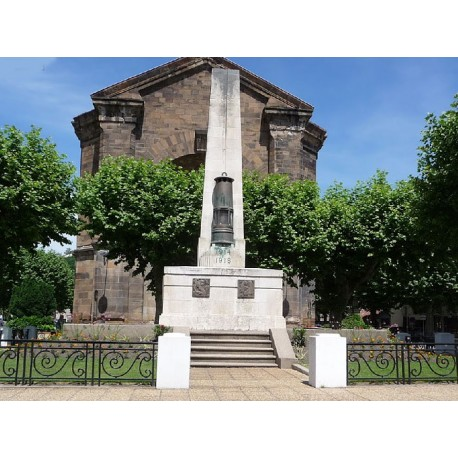 Военный мемориал 1914-1918 г.г. в Деказвиле (Monument aux morts de la guerre 1914-1918 de Decazeville)