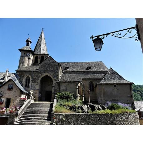 Церковь Сен-Флёр в Эстене (Église Saint-Fleuret d'Estaing)