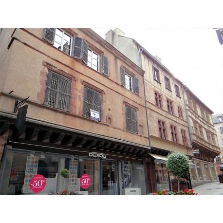 Дома по ул. Арманьяк в Родезе (Maisons la rue. Armagnac à Rodez): Родез, Авейрон