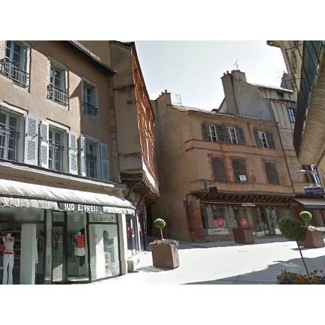 Дом Труайе в Родезе (Maison Trouillet à Rodez): Родез, Авейрон