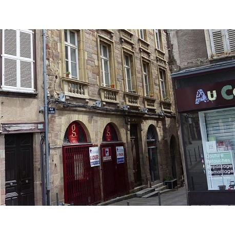 Дом по ул. Барьер в Родезе (Maison la rue. Barrière à Rodez): Родез, Авейрон