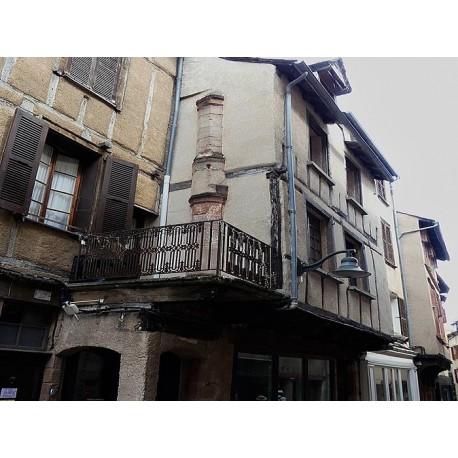 Дом по ул. Эмберг в Родезе (Maison la rue de l'Embergue à Rodez): Родез, Авейрон