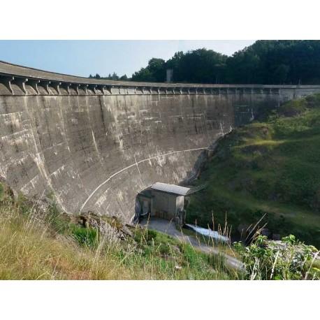 Плотина Парелуп (barrage de Pareloup)