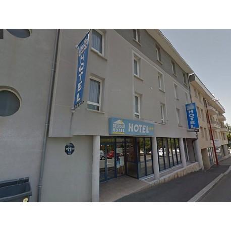 Отель Deltour Hôtel Rodez Bourran 3*