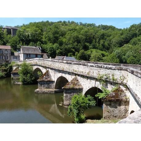 Мост Пон де Сиру (Pont de Cirou): Авейрон, Франция