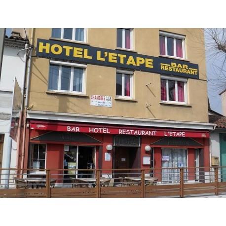 Отель Hotel Restaurant L'Etape (Мийо, Авейрон)