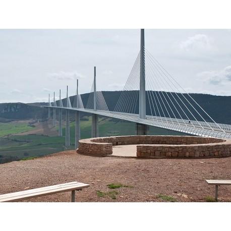 Виадук Мийо (Viaduc de Millau): Мийо, Авейрон