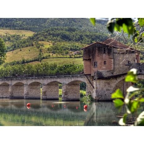 Мост Пон-Вьё Мийо (Pont-Vieux de Millau)