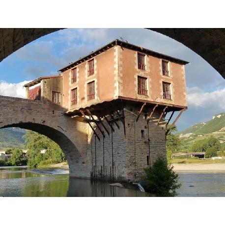 РњРѕСЃС' РџРѕРЅ-Р'СЊС' РњРёР№Рѕ (Pont-Vieux de Millau)