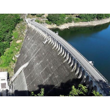 Плотина Барраж де Сарран (Barrage de Sarrans): Авейрон, Окситания