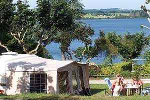 "Кемпинг ""Camping  Beau-Rivage Pareloup Lake"""