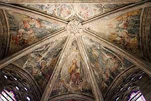 Собор Нотр-Дам де Родез (Cathédrale Notre-Dame de Rodez): фрески