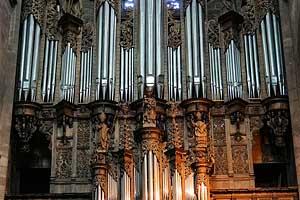 Собор Нотр-Дам де Родез (Cathédrale Notre-Dame de Rodez): орган