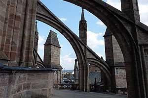 Собор Нотр-Дам де Родез (Cathédrale Notre-Dame de Rodez): арки