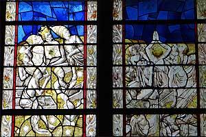 Собор Нотр-Дам де Родез (Cathédrale Notre-Dame de Rodez): витражи