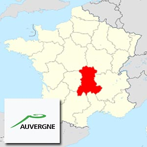 Овернь (Auvergne) - регион Франции