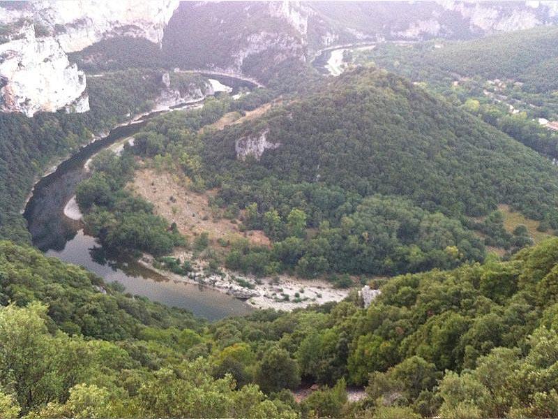 Река Ардеш (Ardeche) - правый приток Роны