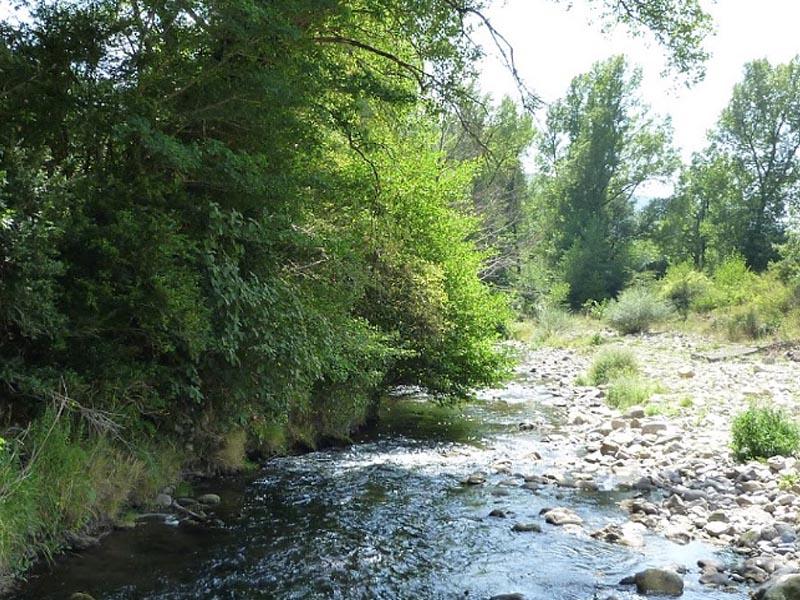Река Орб (Orb) в верхнем течении