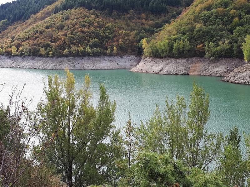 Водохранилище Авен на реке Орб