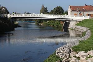 Река Сомма (Пикардия, Франция)