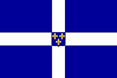 Флаг, использовавшийся на торговых судах с XVII в. до 1790г.