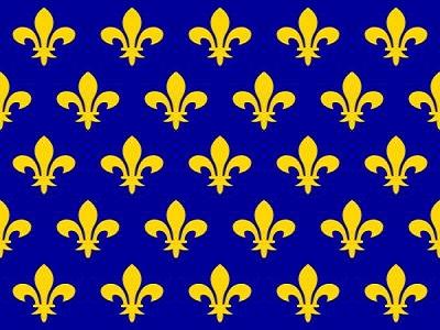 Флаг Франции XII-XIII в.в.