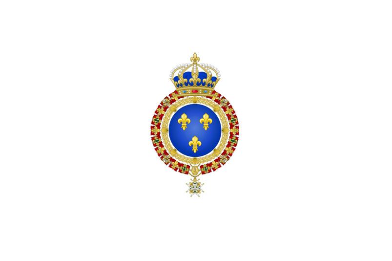 Флаг Франции в период 1814-1830г.г..