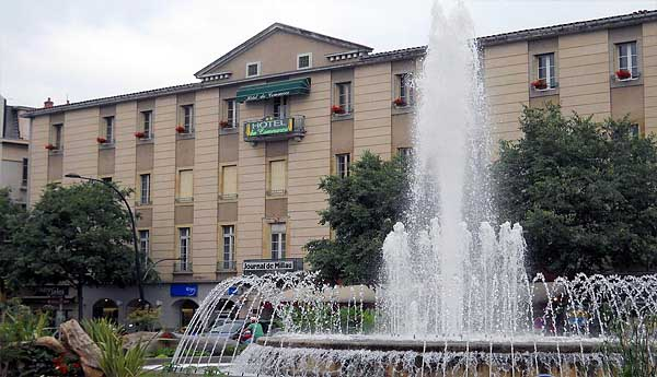 Отель Hôtel du Commerce 2* (Мийо, Франция)