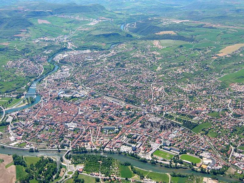 Город Мийо (Millau) - панорама