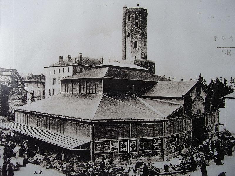 Ярмарка в Мийо в начале ХХ века
