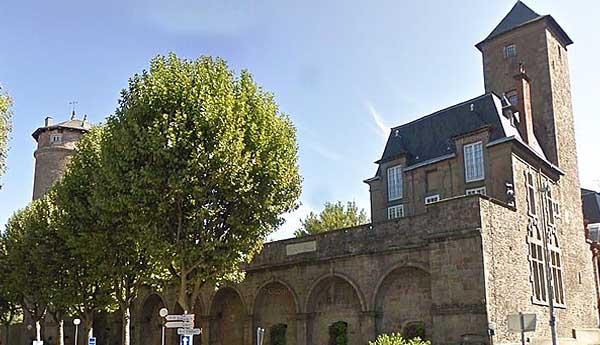 Епископский дворец в Родезе (Palais épiscopal de Rodez)